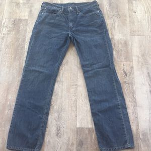 LEVI'S 514 34x34 muted gray blue